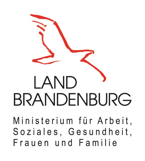 Logo Land Brandenburg Ministerium für Arbeit, Soziales, Gesundheit, Frauen und Familie